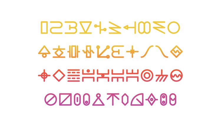 Circuit Free Typefaceのサンプル4