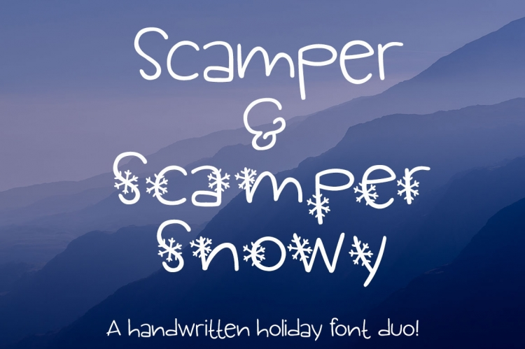 Scamper & Scamper Snowyサンプル1